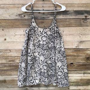 Free People | Spring It On Paisley Slip Dress XS